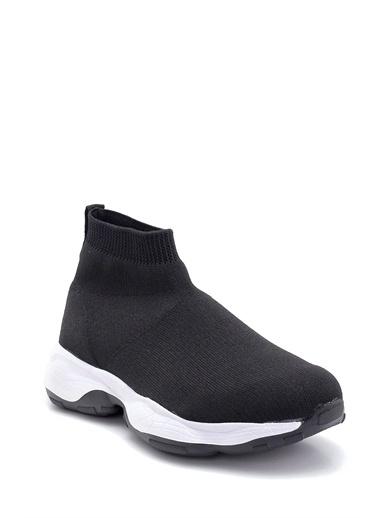 Derimod Erkek Boğazlı Çorap Sneaker Siyah